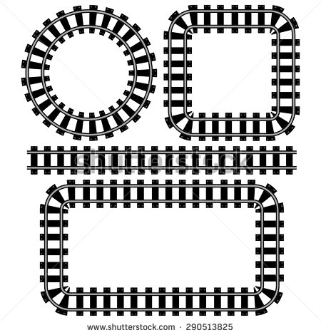 Tunel clipart train track Clipart art track Railway trains