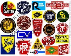 Railways clipart old train Railroad Art Transportation Railroad Heralds