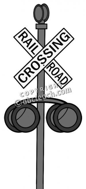 Railways clipart railroad crossing #8
