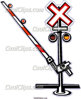 Railways clipart railroad crossing #2
