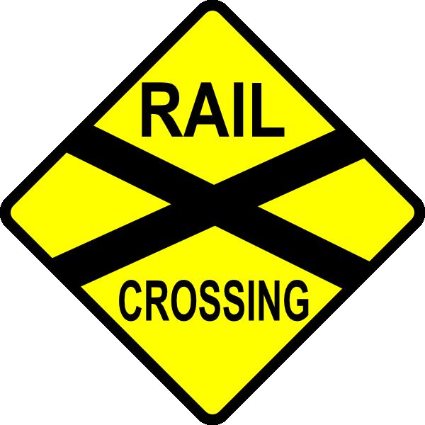 Railways clipart railroad crossing #5