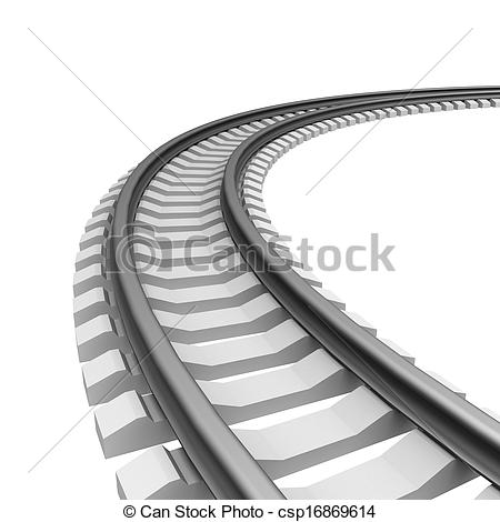 Train clipart curved #15