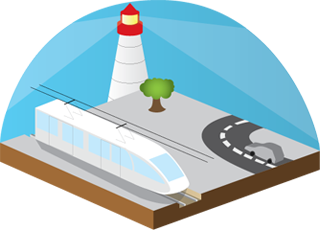 Railways clipart roadways #12