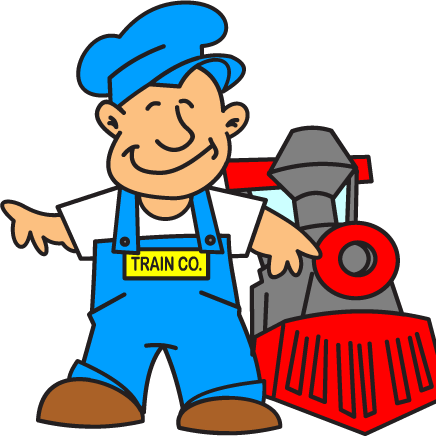 Railways clipart train driver #4