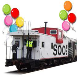 Railways clipart train ride Birthday Scenic Shore North Railroad