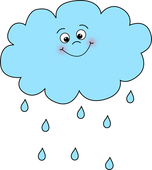 Rain clipart Rain Cloud Happy Rain Rain