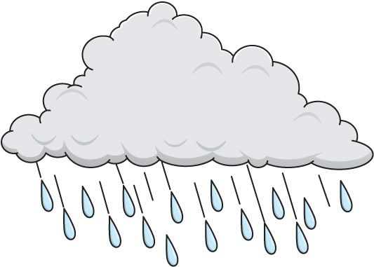 Thunderstorm clipart rainy day Google ivanje com images pictures