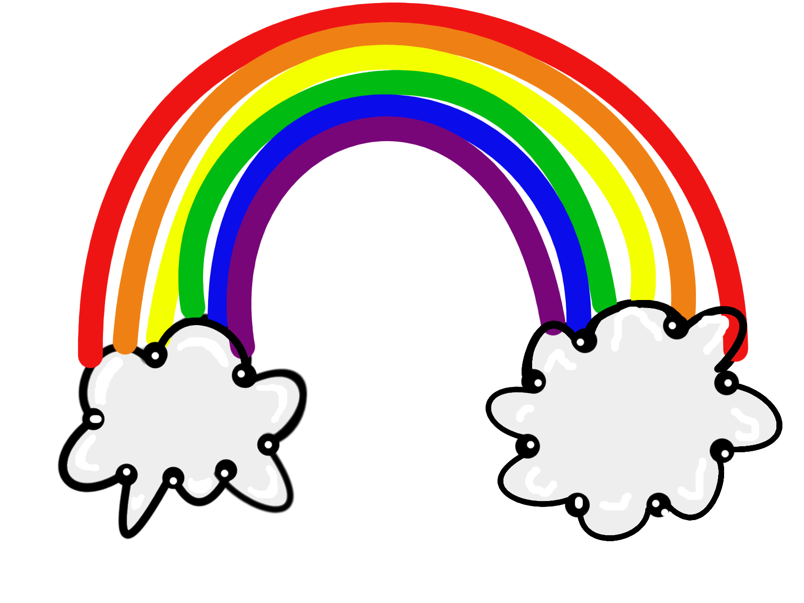 Rainbow clipart Images Kids Free Rainbow For