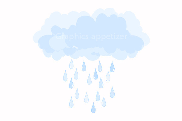 Raindrops clipart transparent background Fonts clipart Raindrop graphics creative