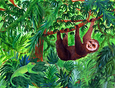 Rainforest clipart Free Rainforest 10 Art Art