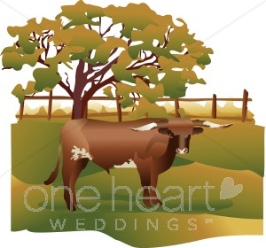 Ranch clipart background Ranch Western Clipart Cattle on