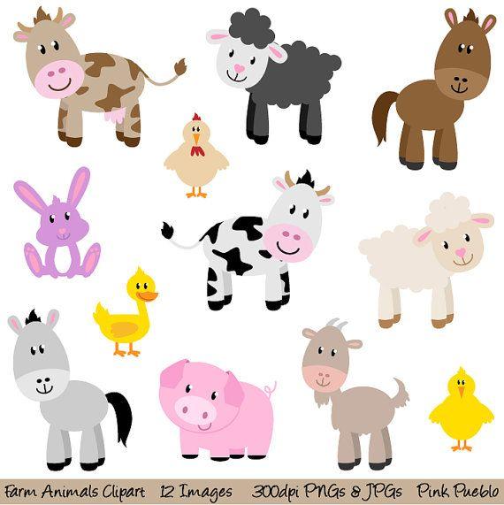 Bunny clipart farm The Farm Art on Animals