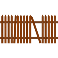 Brown clipart picket fence Fence%20clipart Fence Images Clipart Clipart