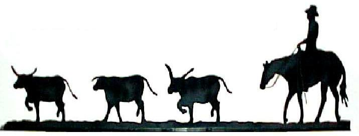 Cow clipart cattle drive Art silhouette clipart cliparts Download