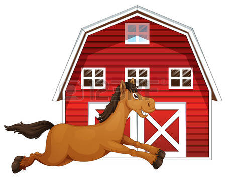 Ranch clipart horse stable Royalty stable Illustrations Clipground Cliparts