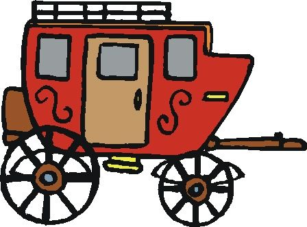 Ranch clipart stagecoach Western Images Clipart Clipart Free
