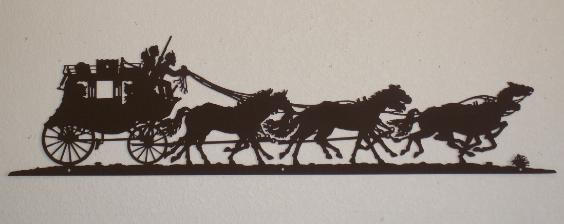 Ranch clipart stagecoach For Yard Log Cabin Metal