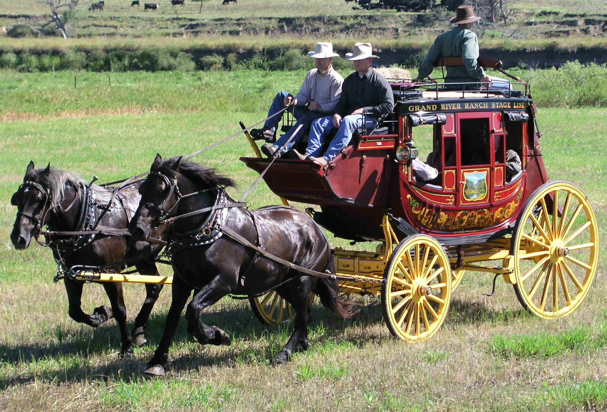 Ranch clipart stagecoach In painting the Awesome the