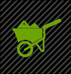 Ranch clipart tool Ranch cart tool garden icon
