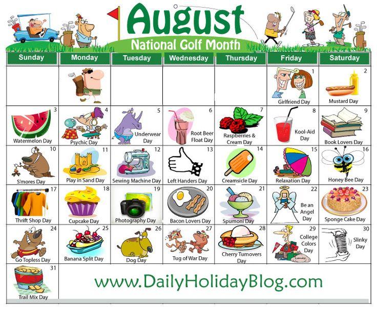 Randome clipart august #4