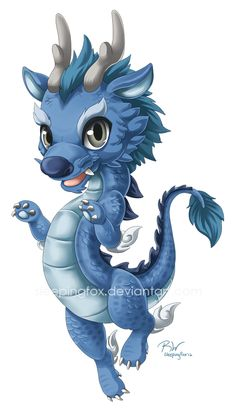 Randome clipart baby dragon #12