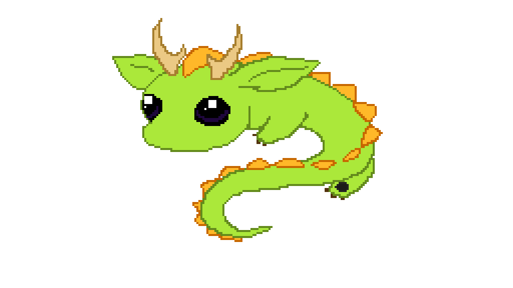 Randome clipart baby dragon #11