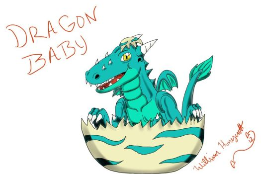 Randome clipart baby dragon #5