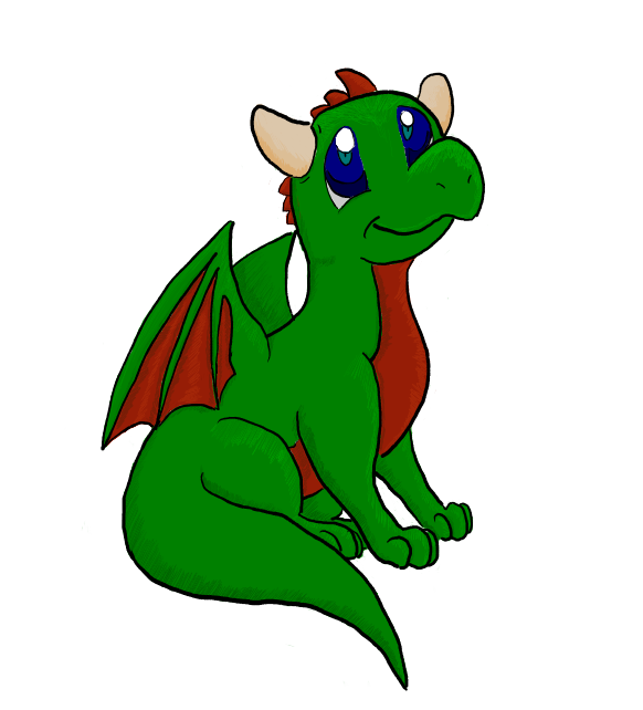 Randome clipart baby dragon #10