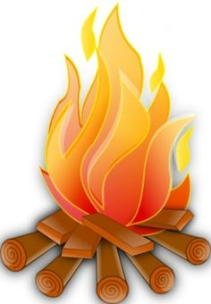 Randome clipart campfire cooking #11
