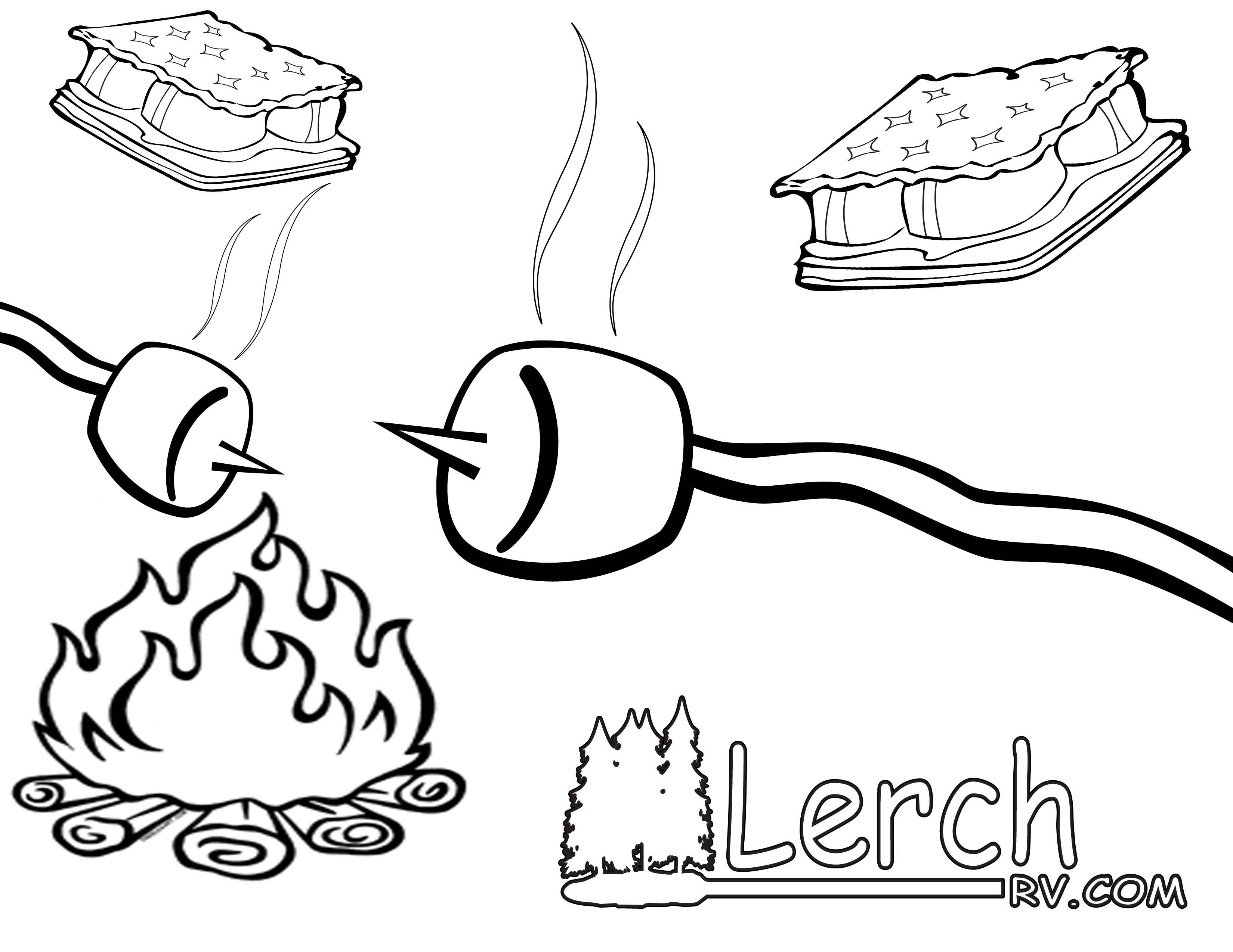 Campfire clipart random Search on invite art Clip