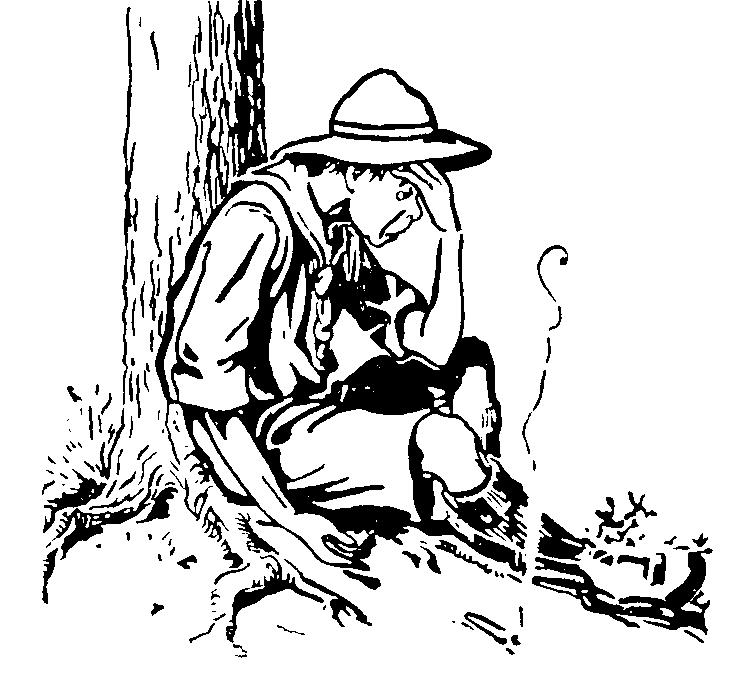 Randome clipart campfire smoke #3