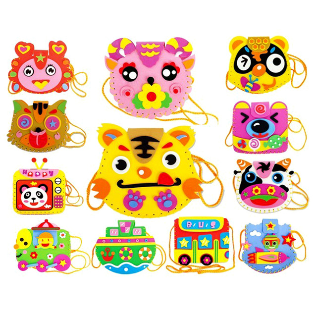 Randome clipart cartoon toy Style Toy Sewing Bag Bags