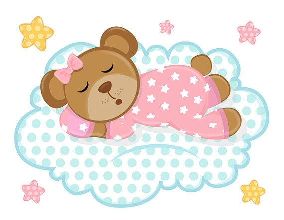 Teddy clipart sleepy Sleepy Pink about images 845