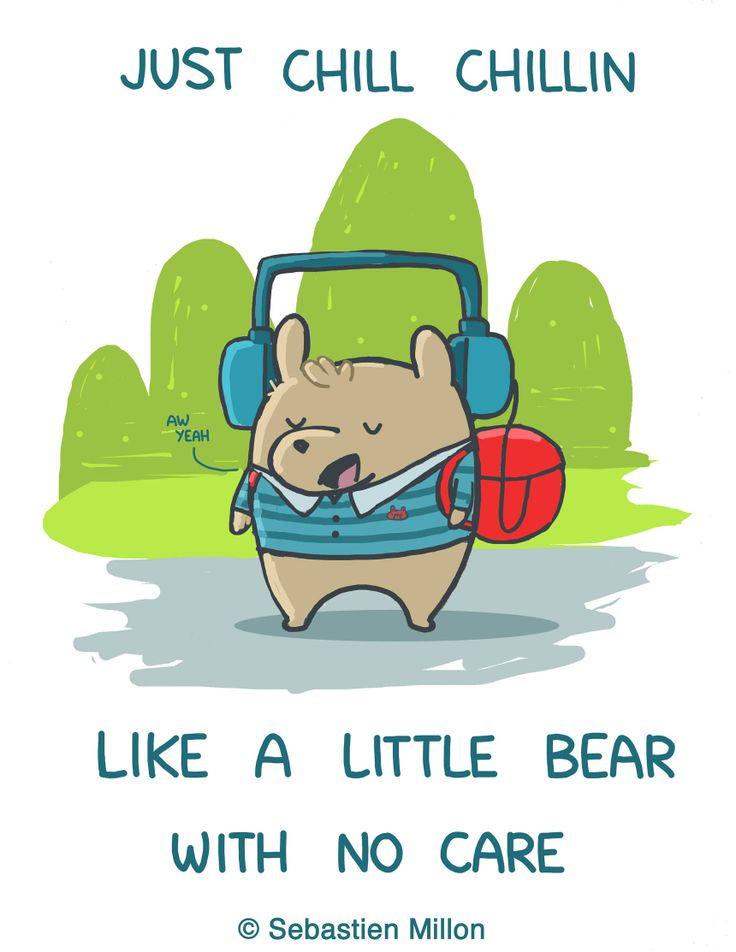 Randome clipart little bear #2