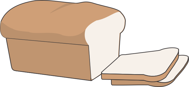 Randome clipart loaf bread End Art Sliced Loaf Loaf