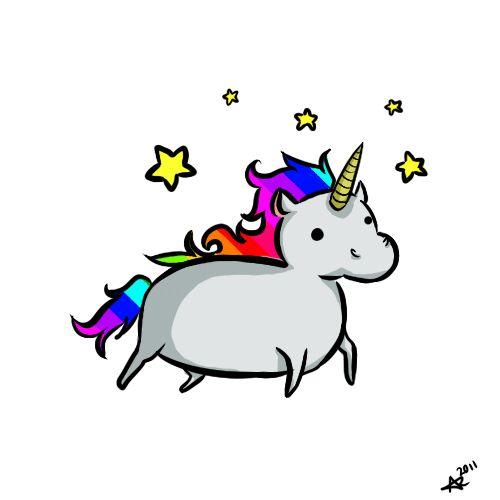 Randome clipart rainbow unicorn #13