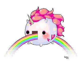 Randome clipart rainbow unicorn #11
