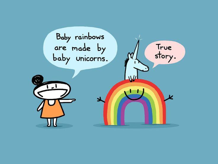 Randome clipart rainbow unicorn #15