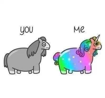 Randome clipart rainbow unicorn #4