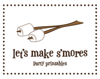 Campfire clipart printable Smores Campfire Smores collection gif