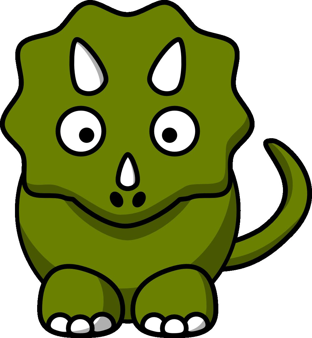 Randome clipart svg SVG clipartist  triceratops fibonacci