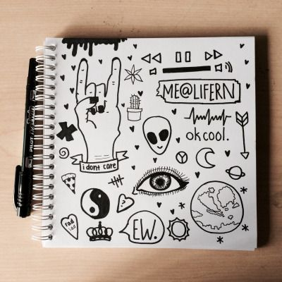 Randome clipart tumbler Notebook doodles grunge Tumblr on
