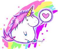 Randome clipart unicorn #7