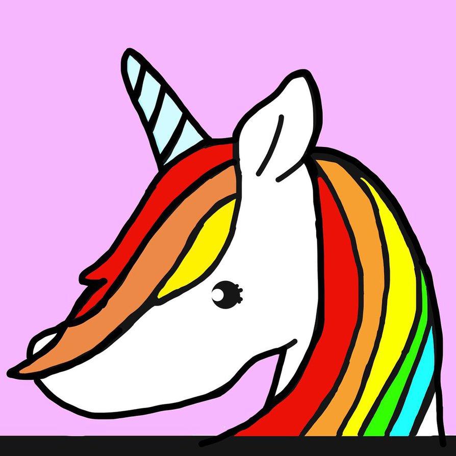 Randome clipart unicorn #13