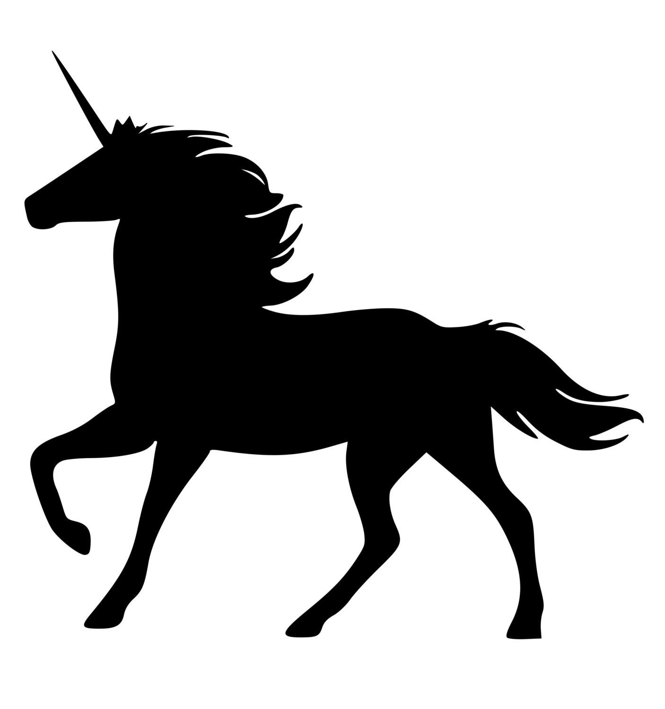 Shadow clipart unicorn #13
