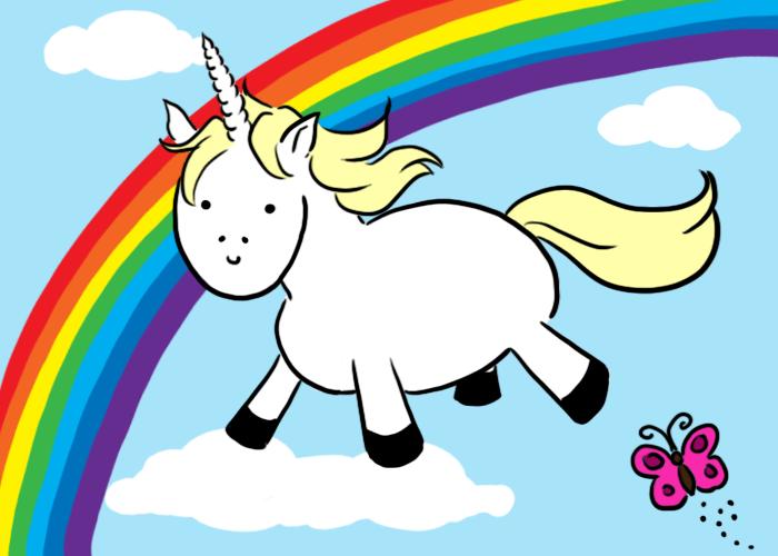 Randome clipart unicorn #6