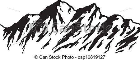 Peak clipart mountain sketch Nevada clipart Mountain Nevada