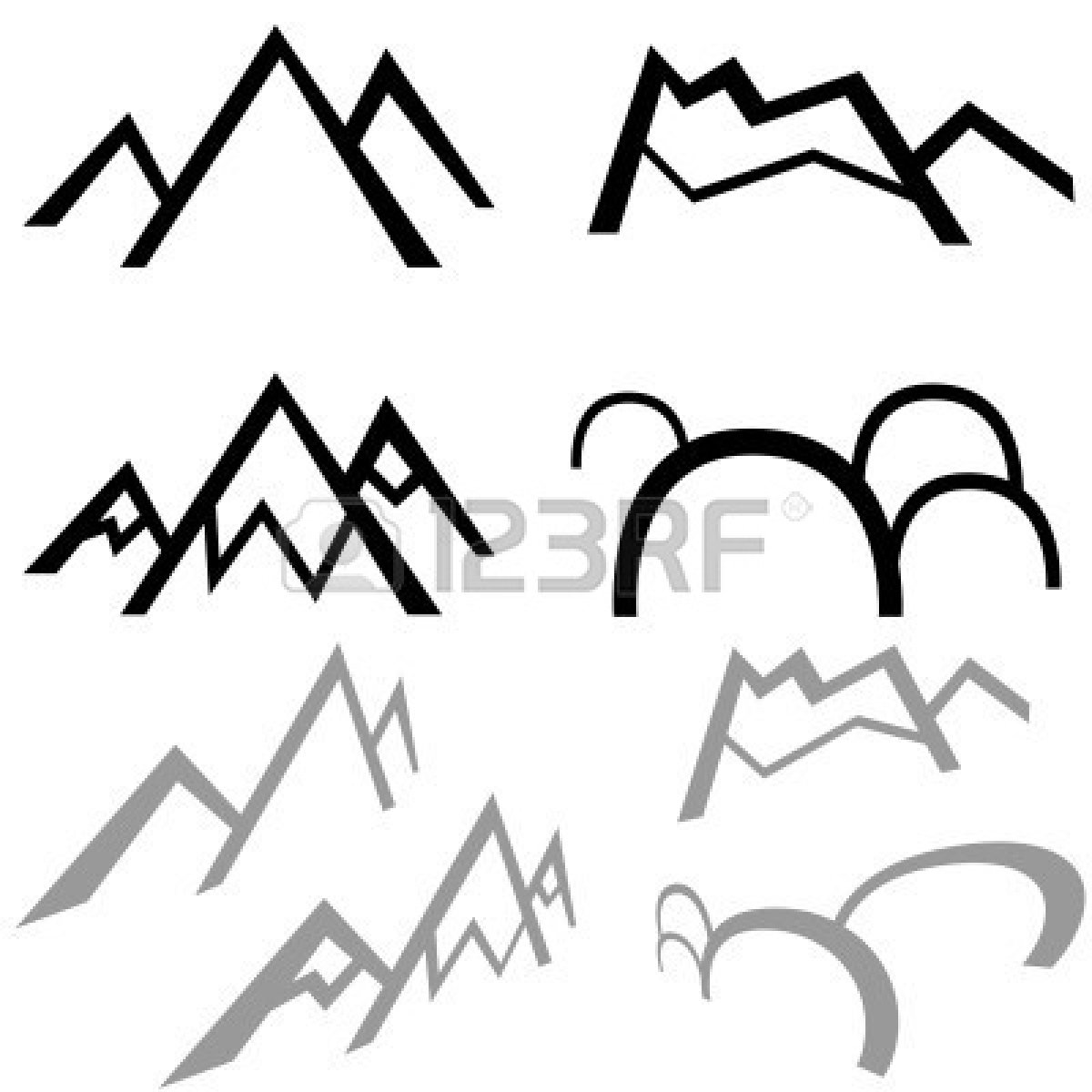 Range clipart #1536 Free Mountain Range Clipart