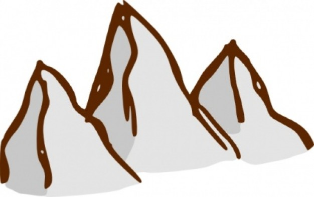 Geography clipart high mountain Clipart Cliparts Range Mountain Range