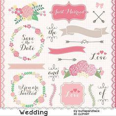 Ranuncula clipart coral flower Flower flower Wedding  clipart